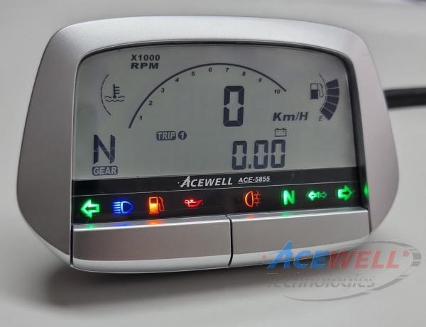 Acewell ACE-5855Y für Yamaha YFM 660/700R Limited Edition