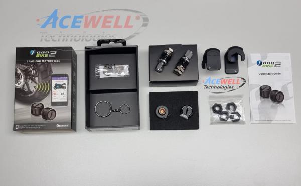 Kit FOBO BIKE per controllo pressione e temperatura pneumatici